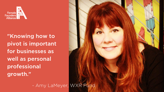 Investors, Innovators, Influencers – Amy LaMeyer, WXR Fund