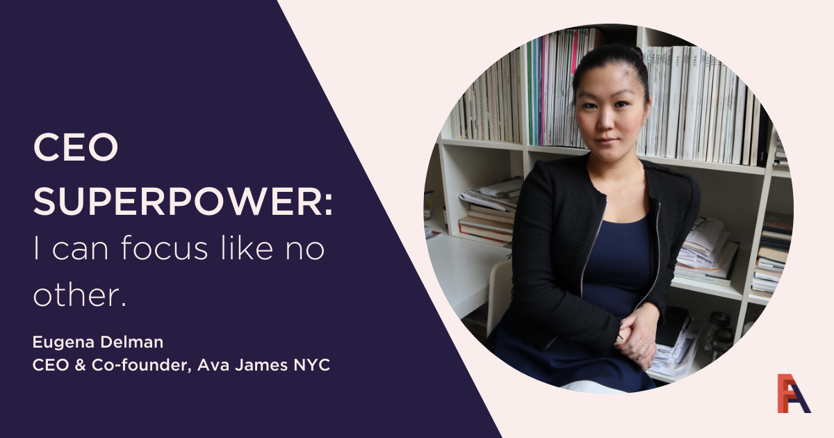 Female Founder Feature – Eugena Delman, Ava James NYCt
