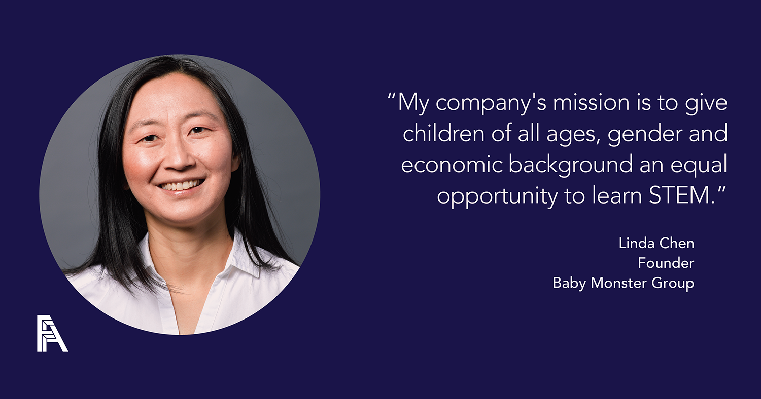 Female Founder Feature -Linda Chen, Baby Monster Group