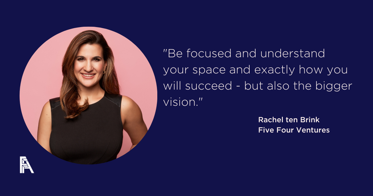 Investors, Innovators, Influencers – Rachel ten Brink