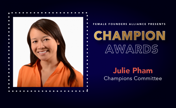 Investors, Innovators, Influencers – Julie Pham