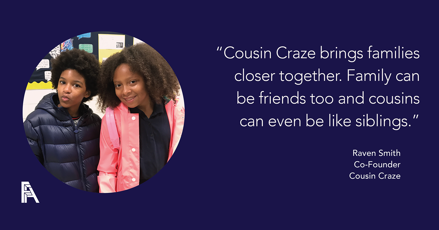 Female Founder Feature – Raven Smith, Cousin Craze