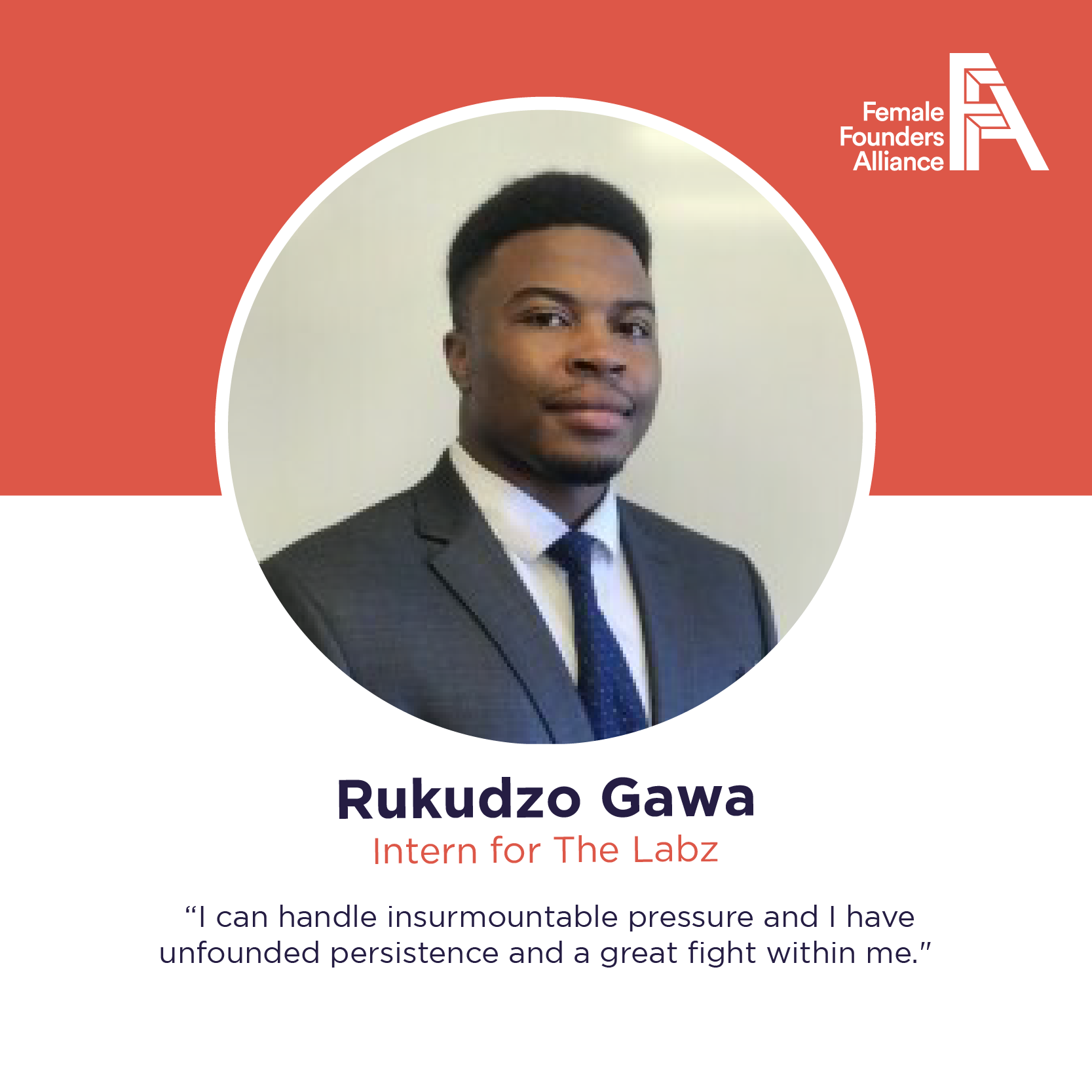 FFA Intern Feature – Rukudzo Gawa, The Labz
