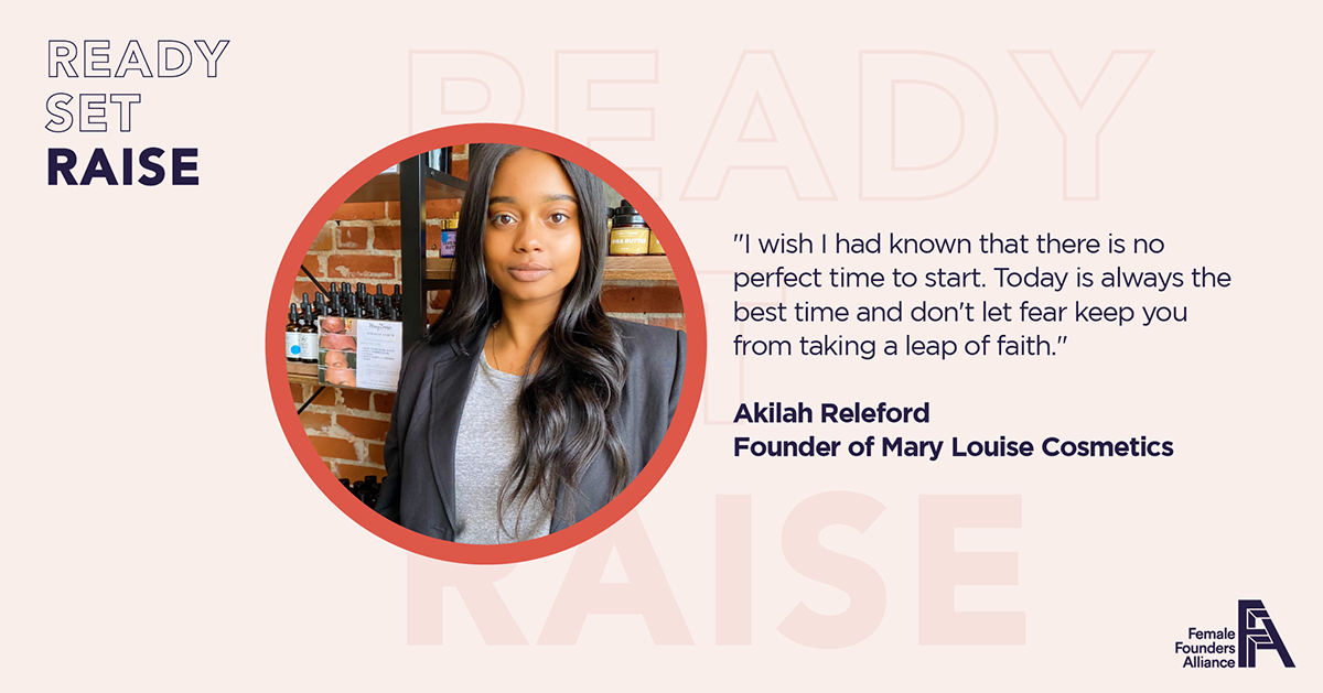 Female Founder Feature – Akilah Releford, Mary Louise Cosmetics